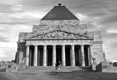 Shrine of Remembrance (commemorating those killed in various wars).